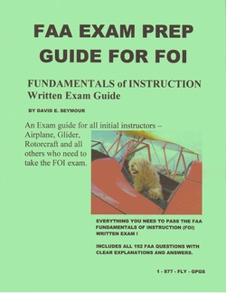 GPGS FAA Exam Books - Glider Pilots Ground School